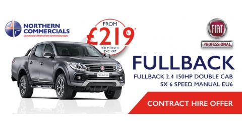 FIAT FULLBACK CONTRACT HIRE