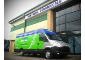New Daily Platinum Van for Sonoco Recycling