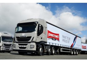 Driver feedback secures Stralis Hi-Way fleet order from PPG Industries
