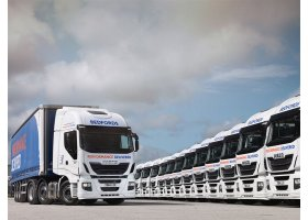 Bedfords lead the pack with the delivery of 39 Euro VI Stralis'