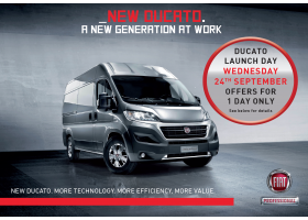 New Ducato Launch Day | 24.09.14
