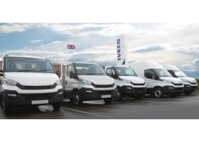 Stock Iveco Daily Vans and Chassis Cabs