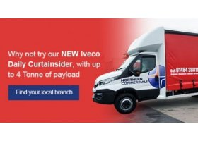 NEW Iveco Daily 7 Tonne Curtainsider