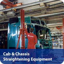 Cab & Chassis Straightening Equipment